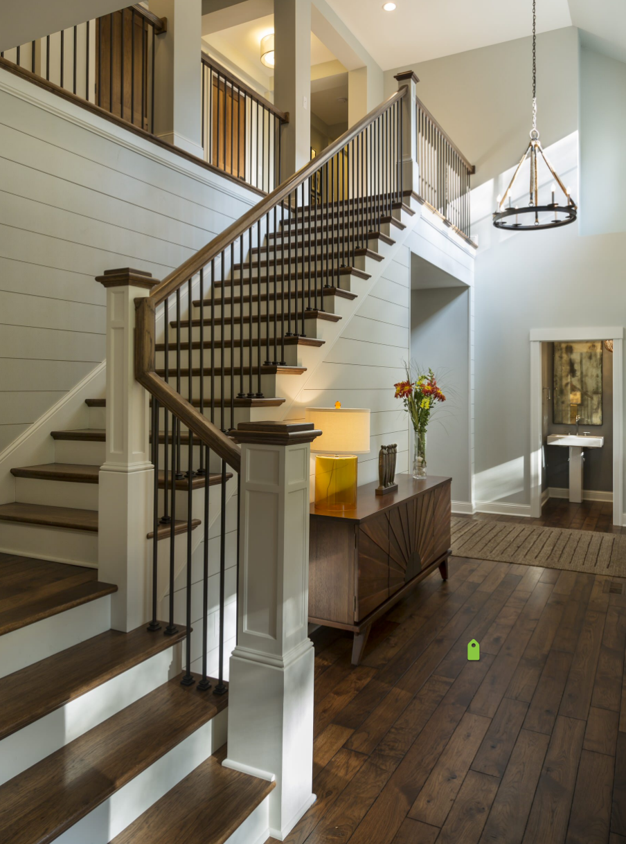 Best Transitional Staircase House Design House New Homes 400 x 300