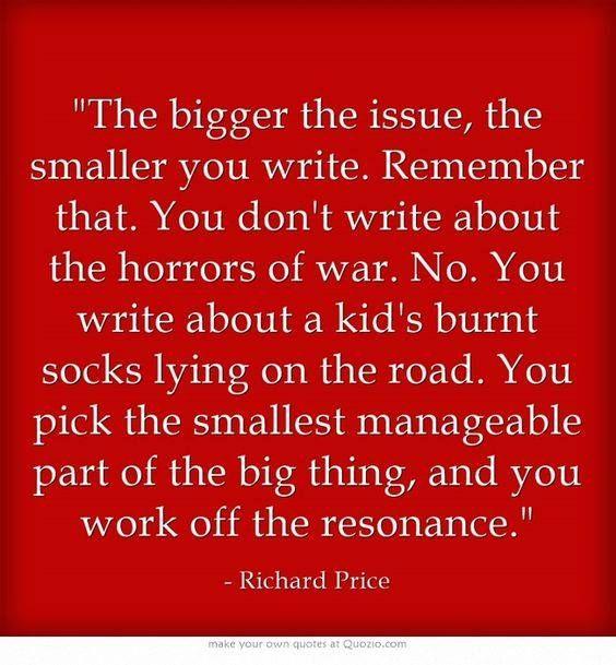 Writing small: