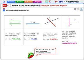 Rectas Perpendiculares Rectas Paralelas Definiciones Y Propiedades Angulos Matematicas Material Didactico Para Matematicas Paralelas Y Perpendiculares
