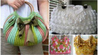 Tığ İşi Çanta Modelleri Çanta İhtiyacınıza Ayrı Bir Boyut Getirecek