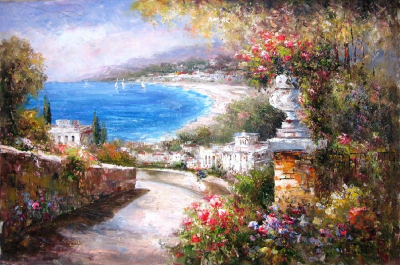 Mediterranean View Mediterranean View Jpg City Wallpaper Holiday Wallpaper Love Wallpaper