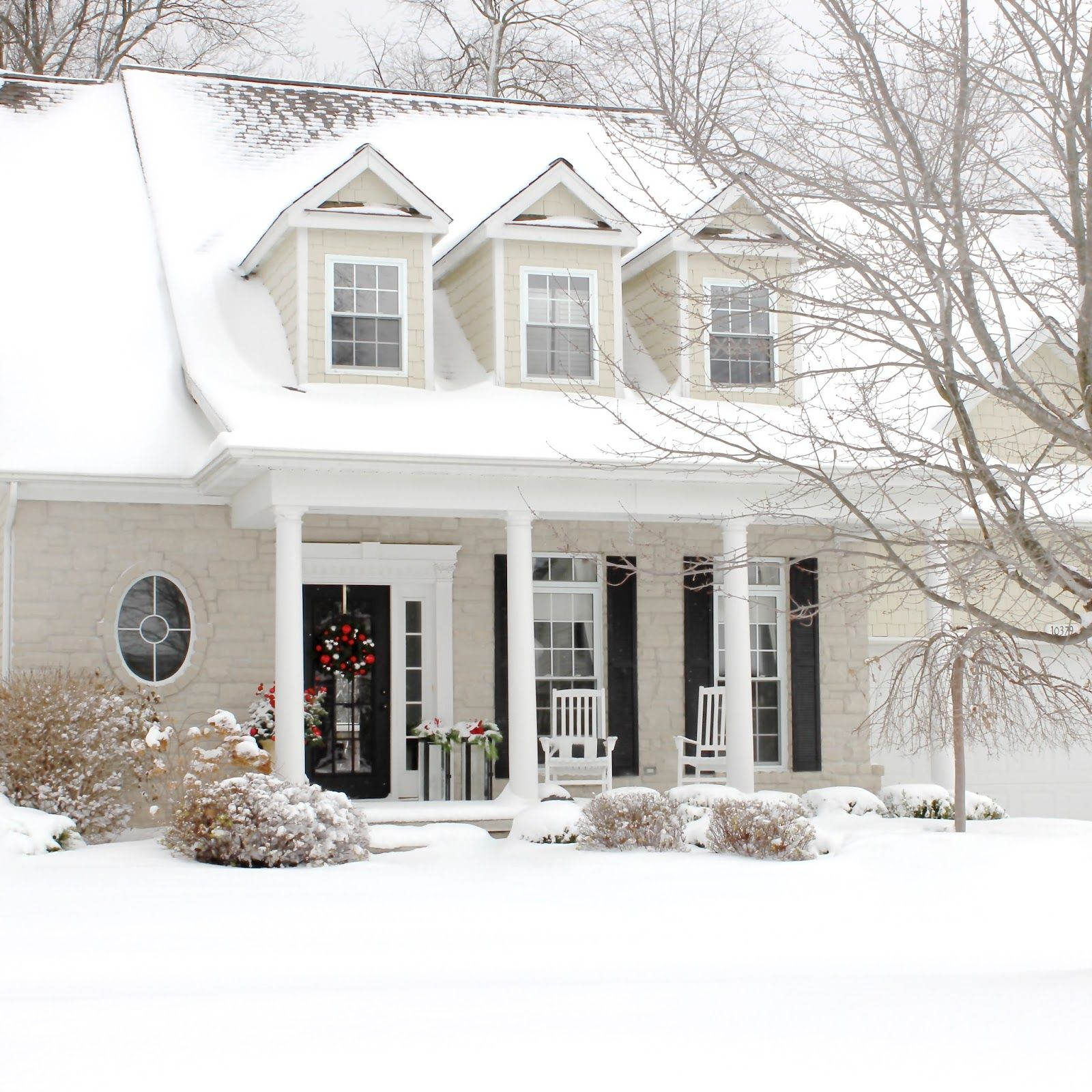 cape cod house exterior design. The Yellow Cape Cod  Christmas Home Tour 2014 Beige House ExteriorCape Hometalk DIY
