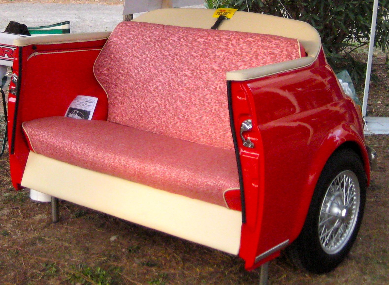 Have a seat #repurposed #recycle #furniture #cars #auto #teamnissan #manchester #newhampshire #nh