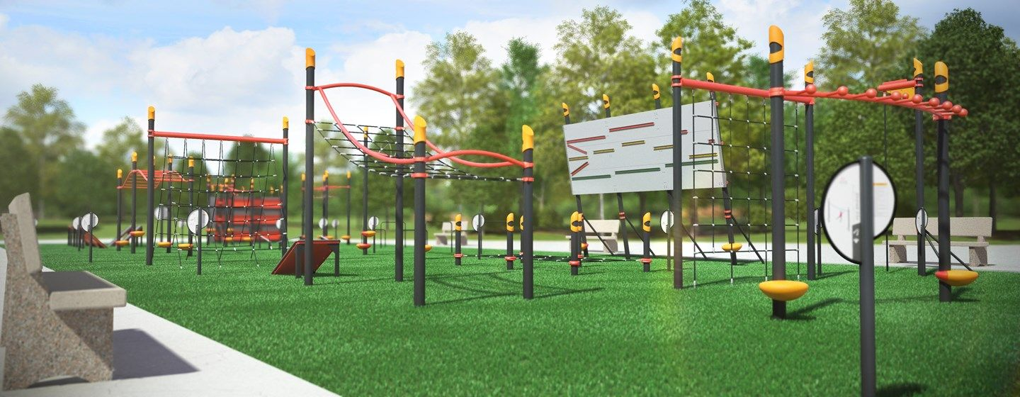 Fitcore™ Extreme Course 2 - 13+ - Obstacle course ...