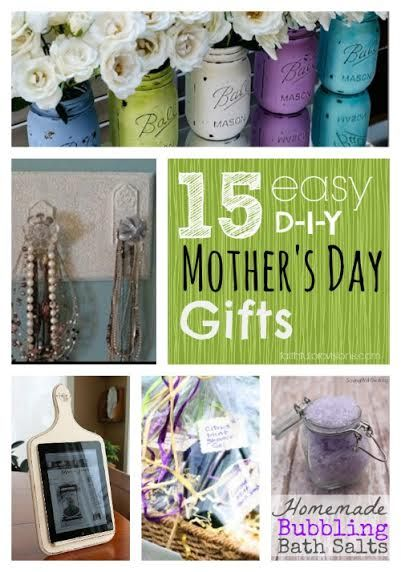 15 easy diy mothers 39 day gifts projects pinterest weihnachten basteln und kreativ basteln. Black Bedroom Furniture Sets. Home Design Ideas