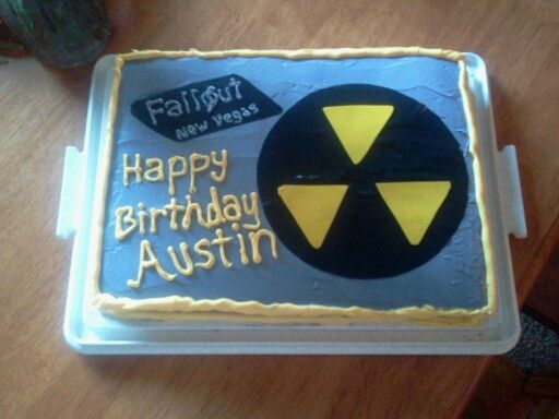 Austins fallout cake My cakes Pinterest Fallout Cake and