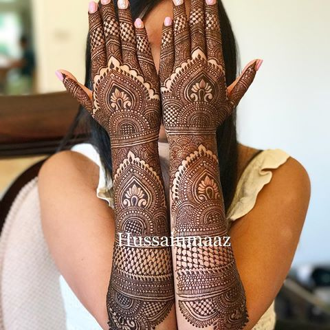 The Most Happiest Bride I Have Ever Met Henna Hennatattoo