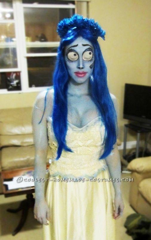 Corpse bride costume diy fashion 74