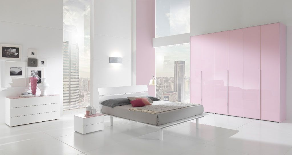 interiorluxury interior design apartmen with pink white luxury bedroom apartment with modern bed design complete with cushion also small ta