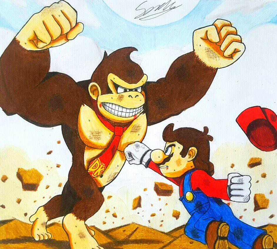 Mario Vs. Donkey Kong (Super Smash Bros.) Arte de