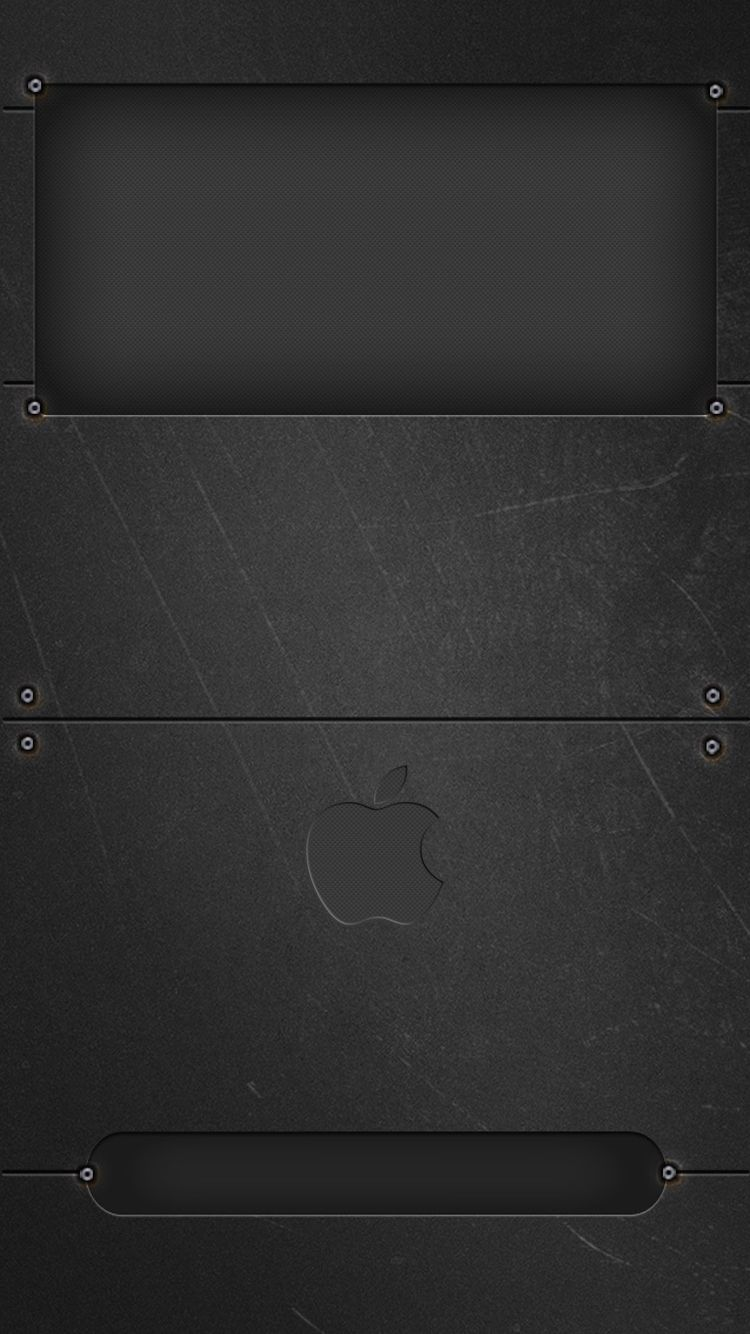 Black Slate Apple Lockscreen Apple Wallpaper Iphone Art