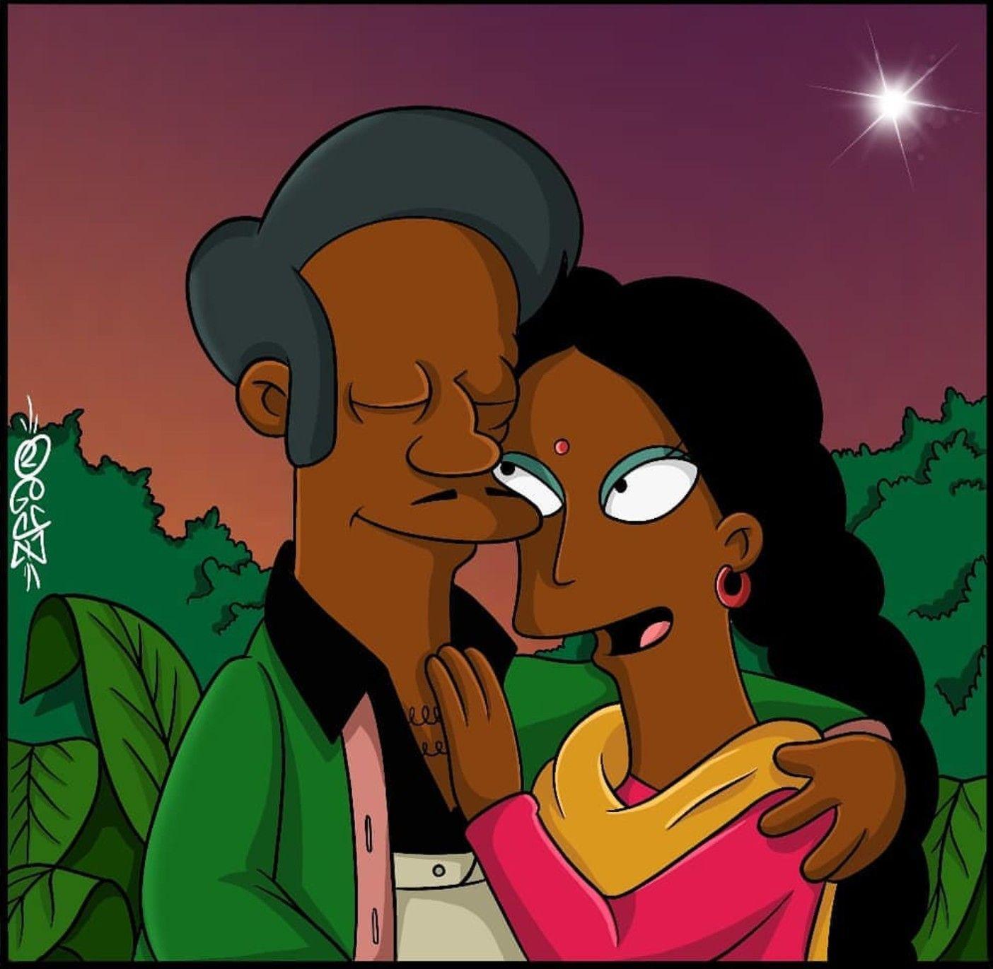 Simpsons apu dating