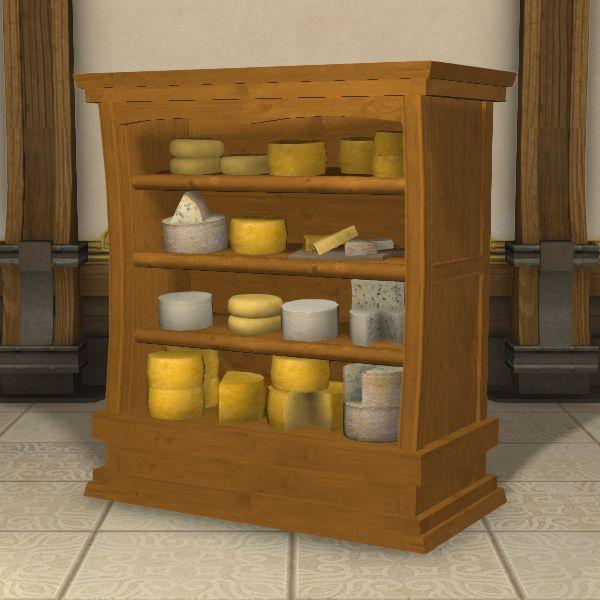 Cheese Collection Ffxiv Housing Table Table Decor Home Decor
