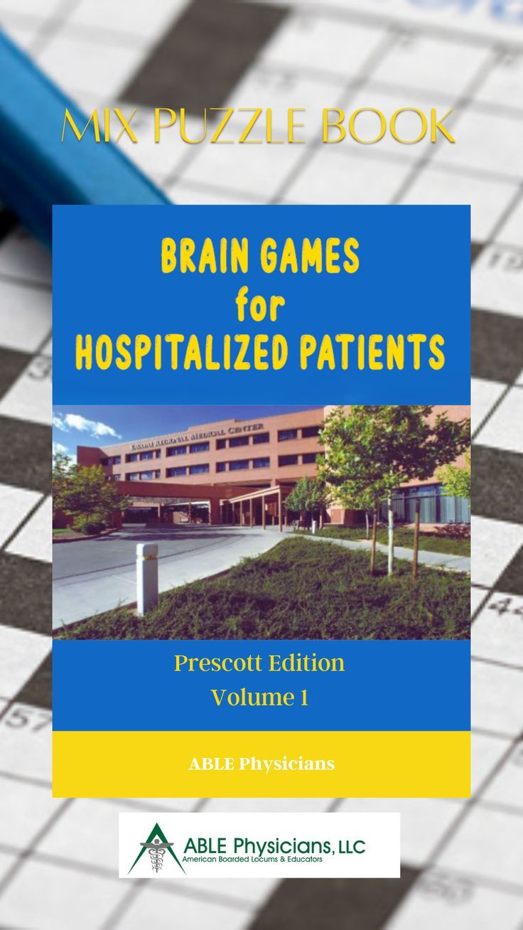 Brain Games Puzzle Book For Hospitalized Patients, Kids, Adults - Variants Puzzle Books: Logic Games For Adults | Logic Games For Adults | Word Search | Sudoku | Maze Puzzle | Logic Puzzle | Word Wheel | Fallen Phrases Target Six Key Cognitive Functions: 1. Long-Term Memory. 2. Working Memory. 3. Executive Functioning. 4. Attention to Detail. 5. Multitasking. 6. Processing Speed. Gift Suggestions for your hospitalized Loved-one