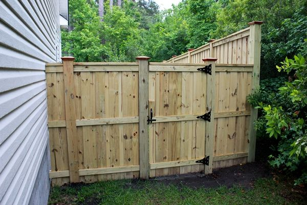 Gallery Wood Privacy Fence Wood Fence Backyard Fences