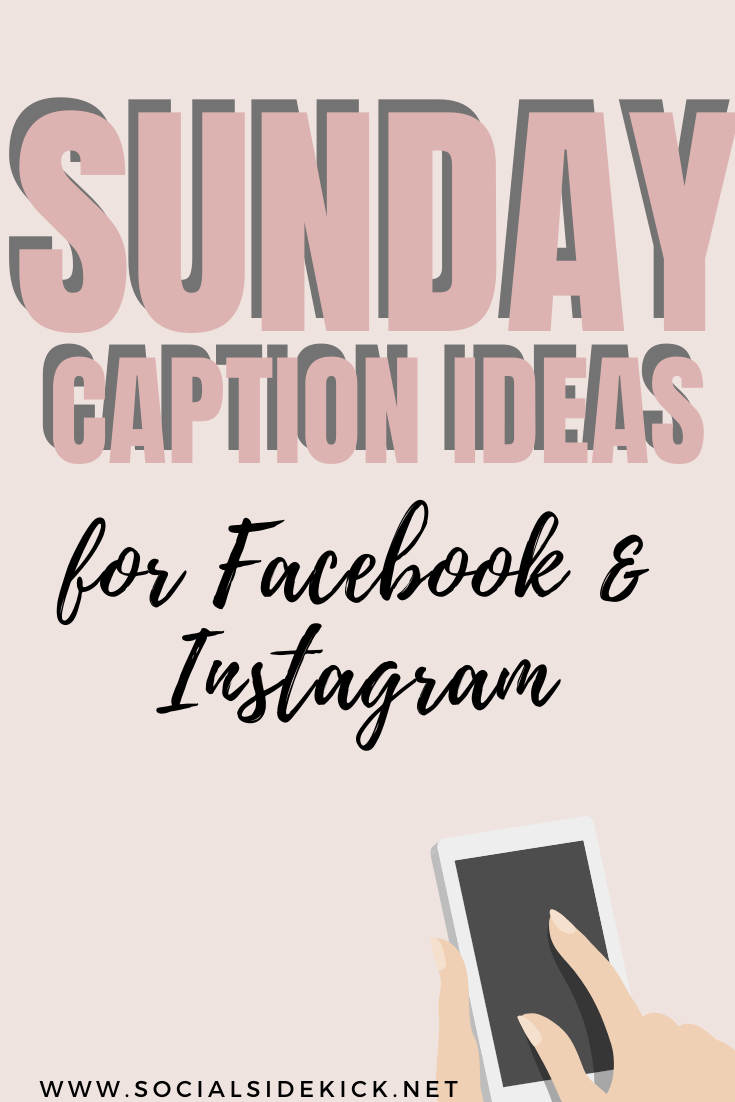 3 SUNDAY CAPTION IDEAS for your business