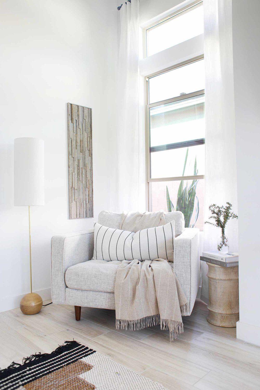 Master Bedroom Reveal + DIY Herringbone Wall with Stikwood