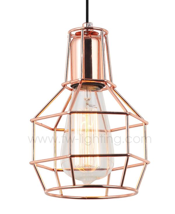 Lamp Fixture Industrial Wire Frame - Wire Data •