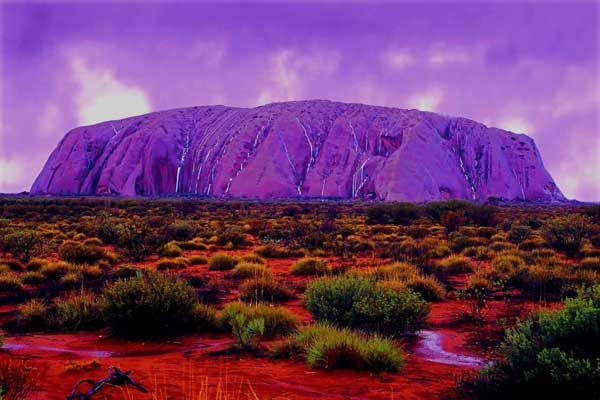 Uluru Australia sunset www.transfercar.com.au | Ayers rock australia,  Wonders of the world, Australia
