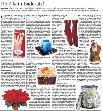 Story on useless small presents (2012)