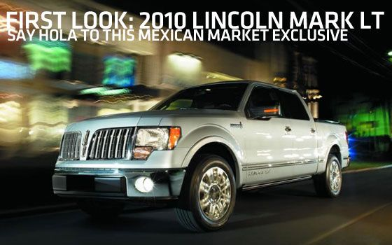 Lincoln Mark LT Lincoln Pinterest