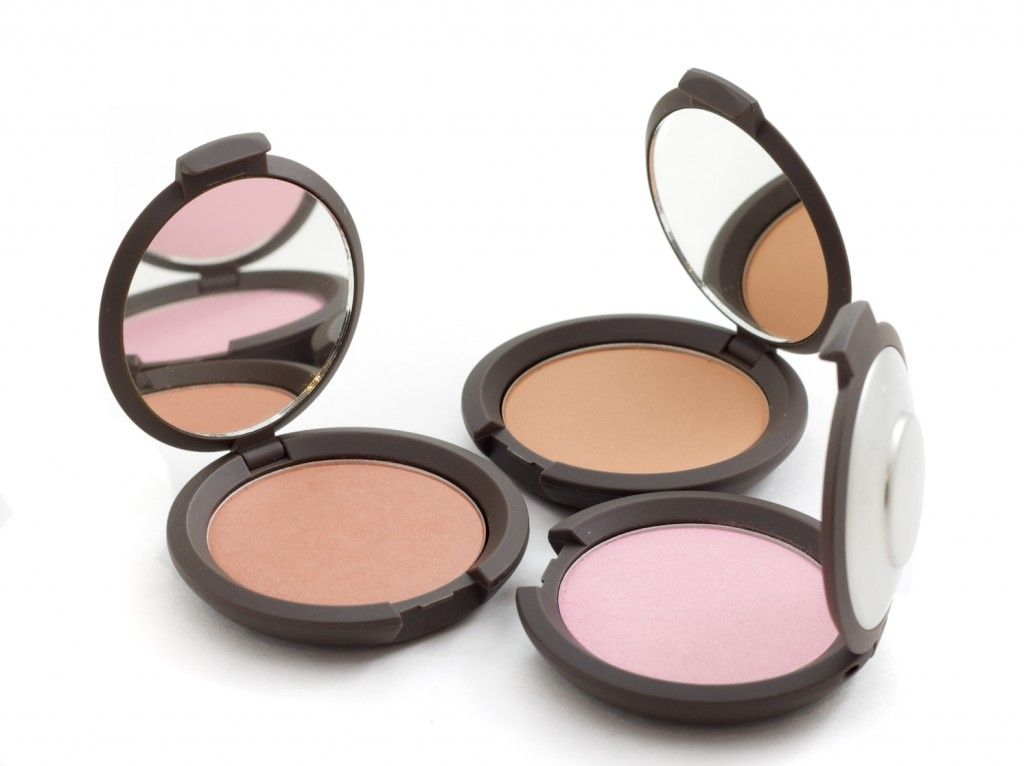 Becca Mineral Blush swatches in Sweetpea, Wild Honey, and Gypsy ...