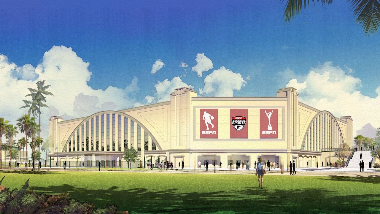 The New Venue at ESPN Wide World of Sports Complex will