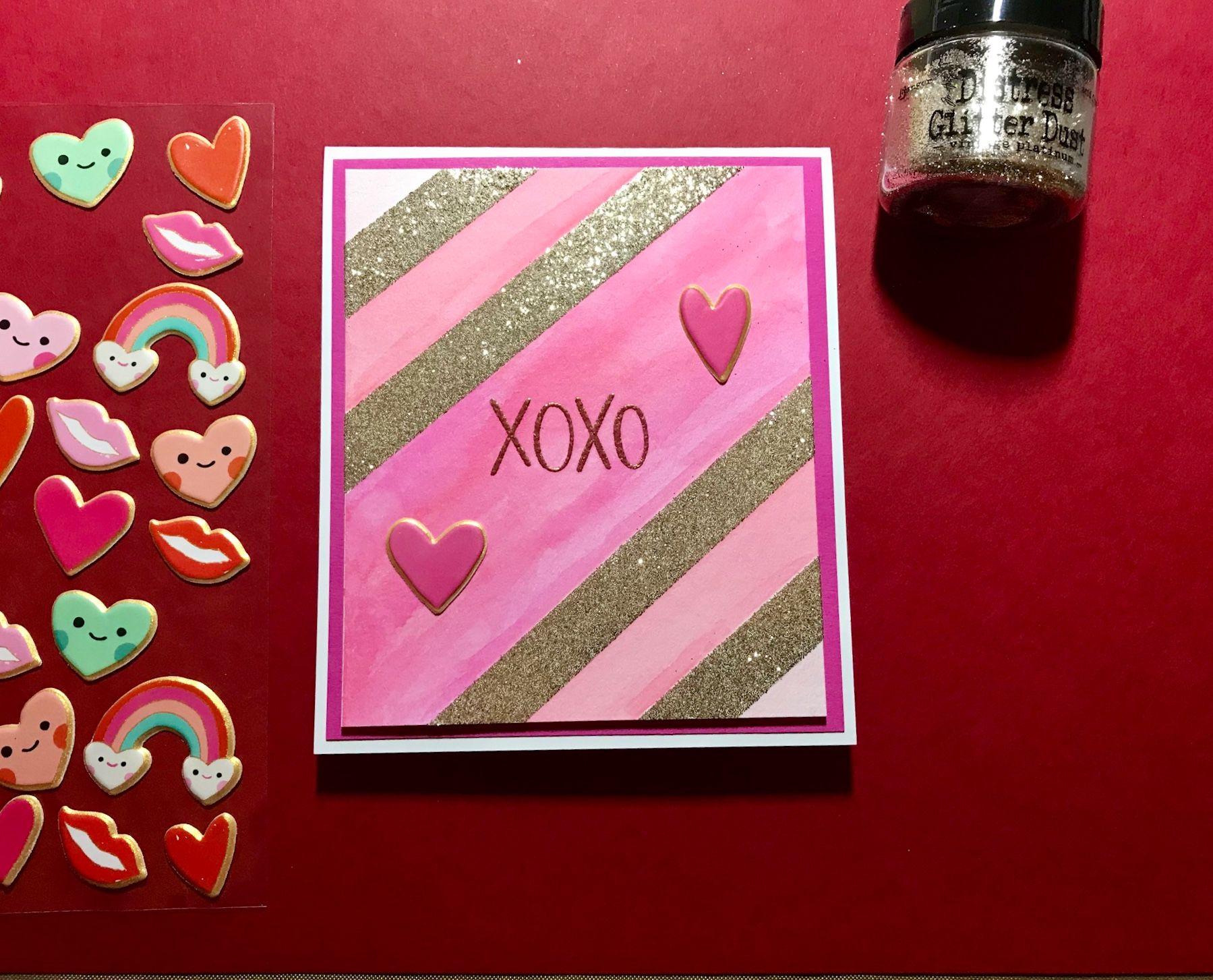 sss card kit  january 2018  valentines cards card kit