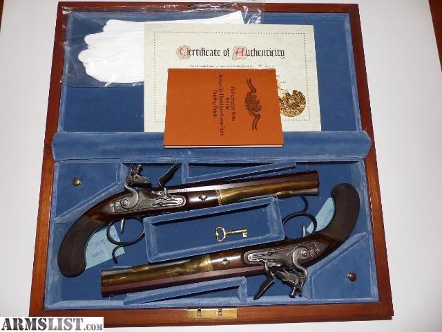 Hamilton - Burr Dueling Pistols