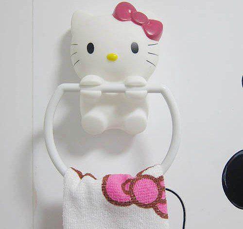 Handdoek Hello Kitty.Pin By Erika Thomas On Hello Kitty Bathrooom Hello Kitty
