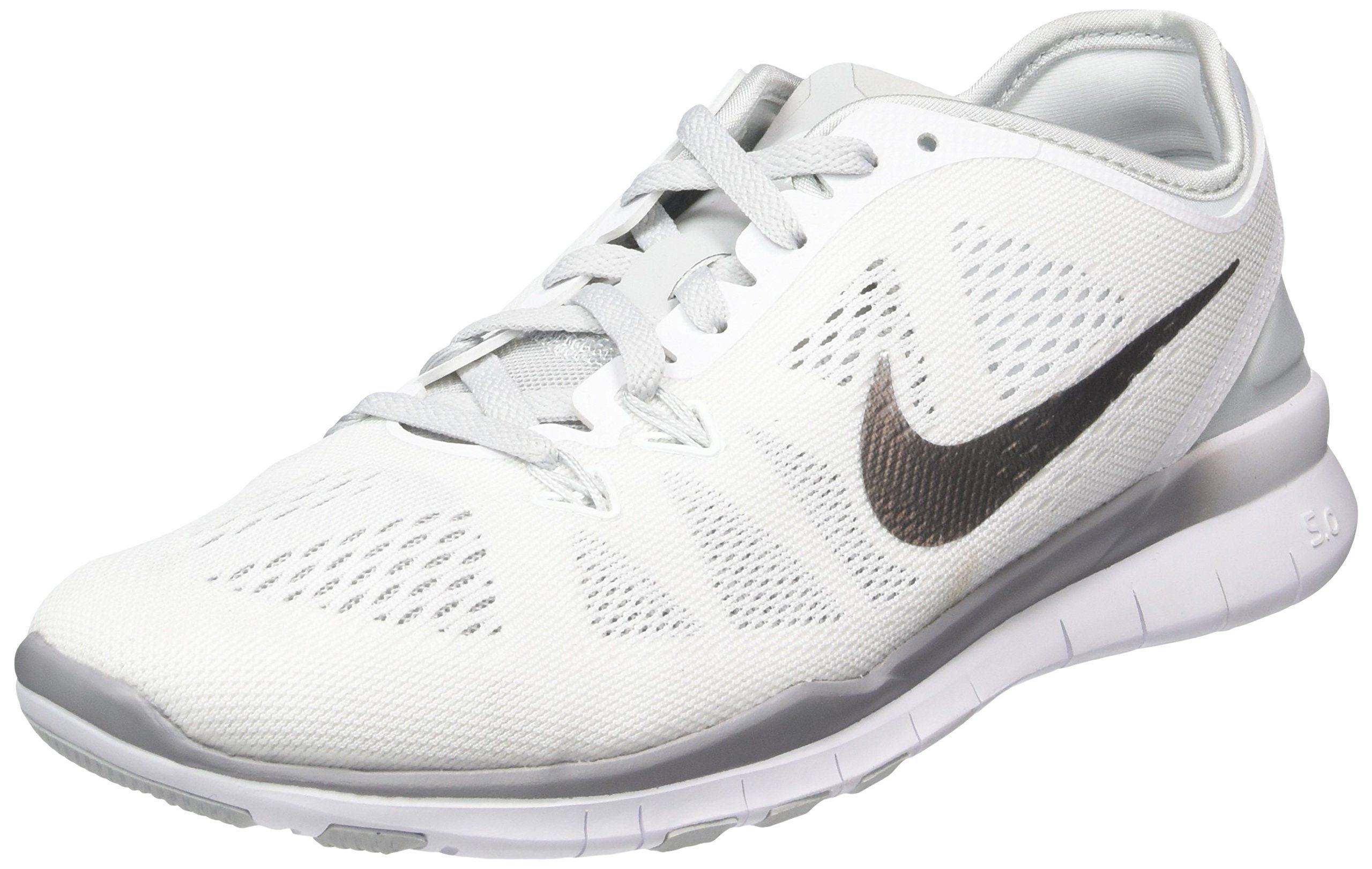 Nike Free 5.0 TR Fit 5 Womens Cross Training Shoes 11 WHITE