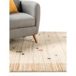 Photo of benuta Kurzflor Teppich Kamal Beige 120×170 cm – Moderner Teppich für Wohnzimmer benuta
