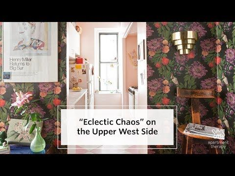 (6) House Tour: A Cozy Vintage Nest on the Upper West Side - YouTube