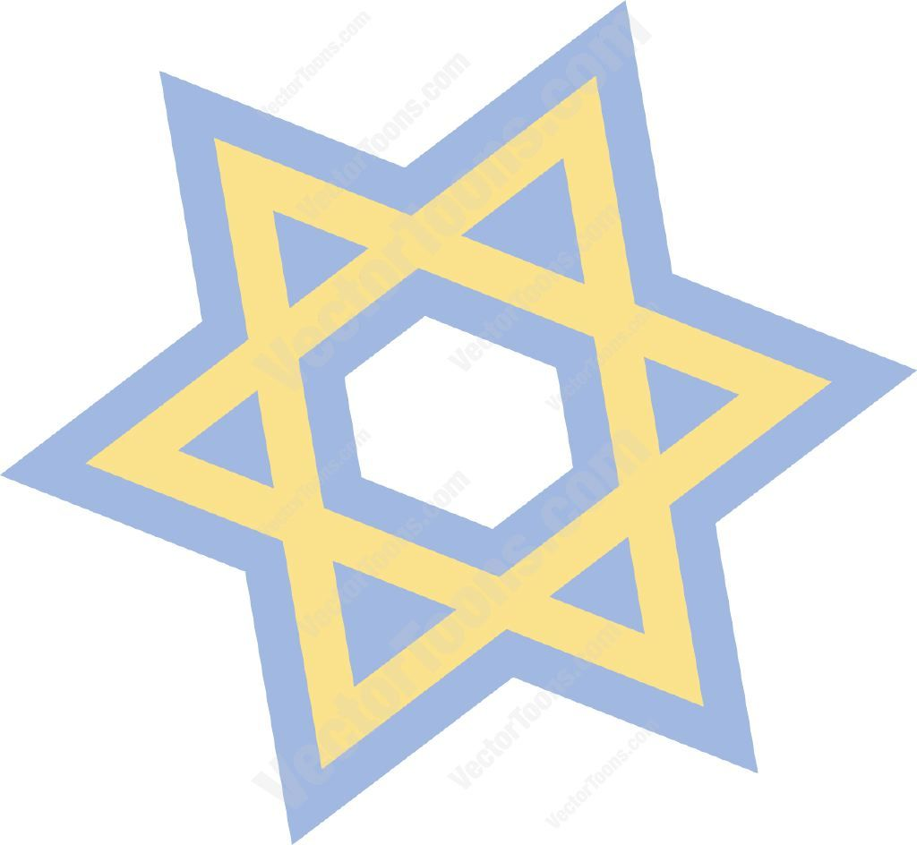 yellow star of david with blue outline outlines rh pinterest com Jewish Star Clip Art Jewish Star Clip Art