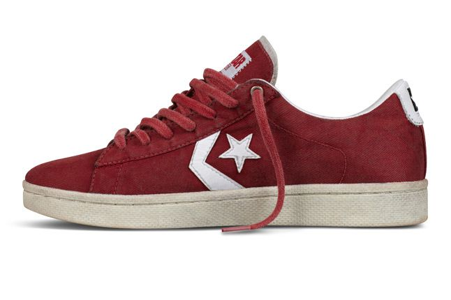 converse pro leather red