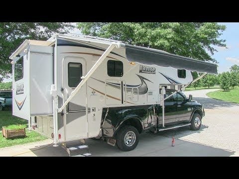 2013 Lance 1172 Slide In Truck Camper W 2 Slides Walk Around