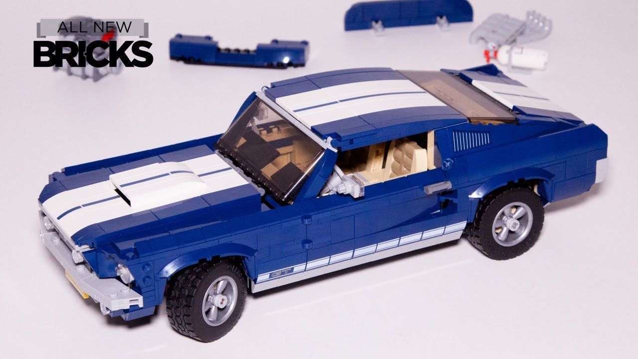 Lego Creator Expert 10265 Ford Mustang Speed Build Lego Videos In