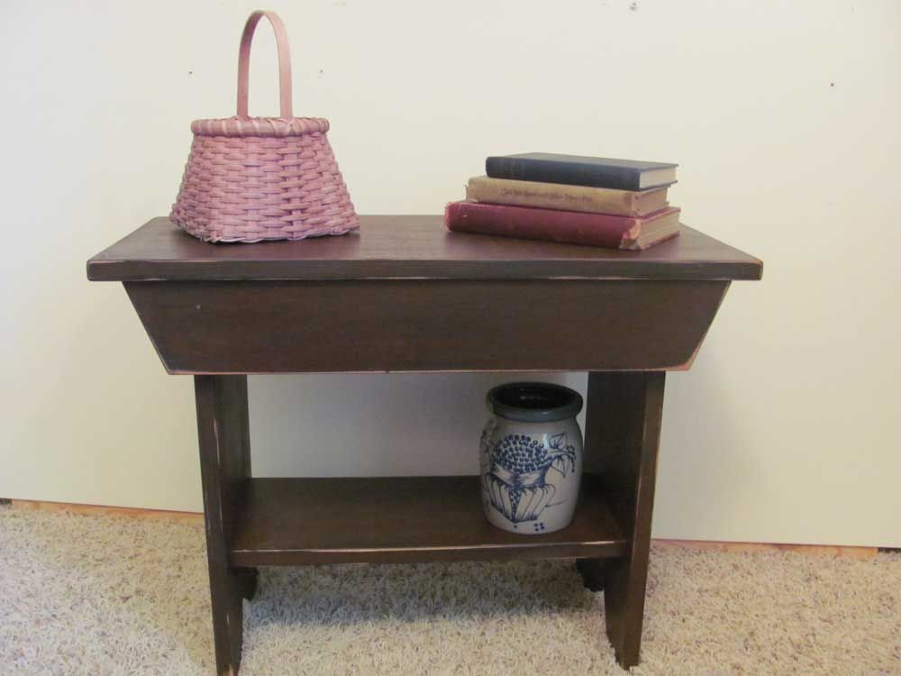 Remarkable Small Primitive Bench Primitive Home Furnishings Home Bralicious Painted Fabric Chair Ideas Braliciousco
