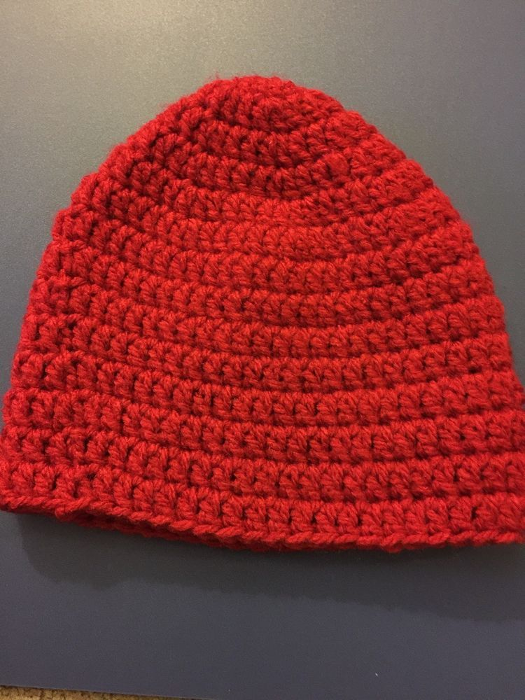 c8c9d69222e Beanie Cap Hat Girls 1-3 Years Old Red Handmade Skullcap Crochet  fashion   clothing  shoes  accessories  kidsclothingshoesaccs  girlsaccessories (ebay  link)