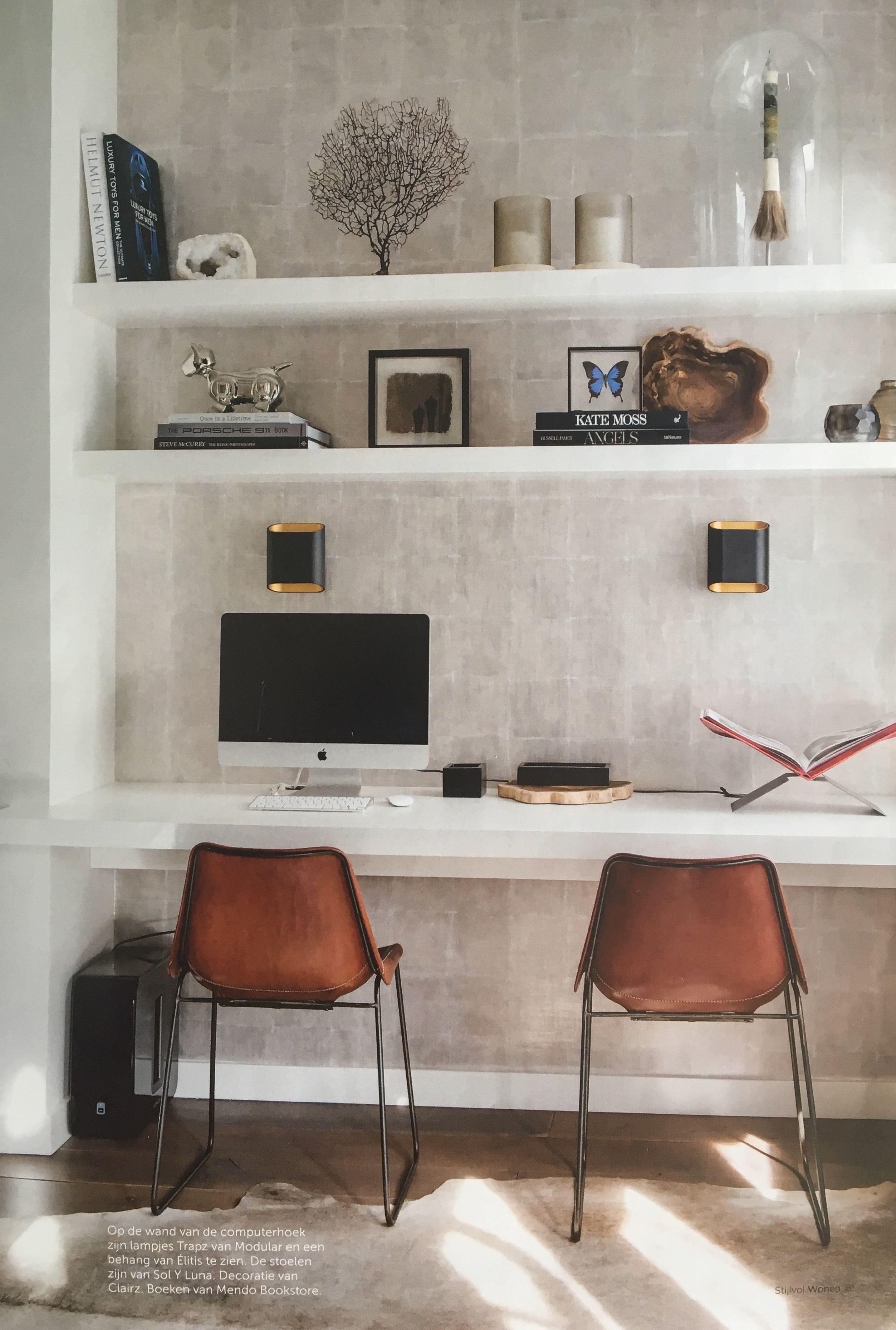 Slaapkamer bureau | Office | Pinterest | Interiors, Spaces and ...