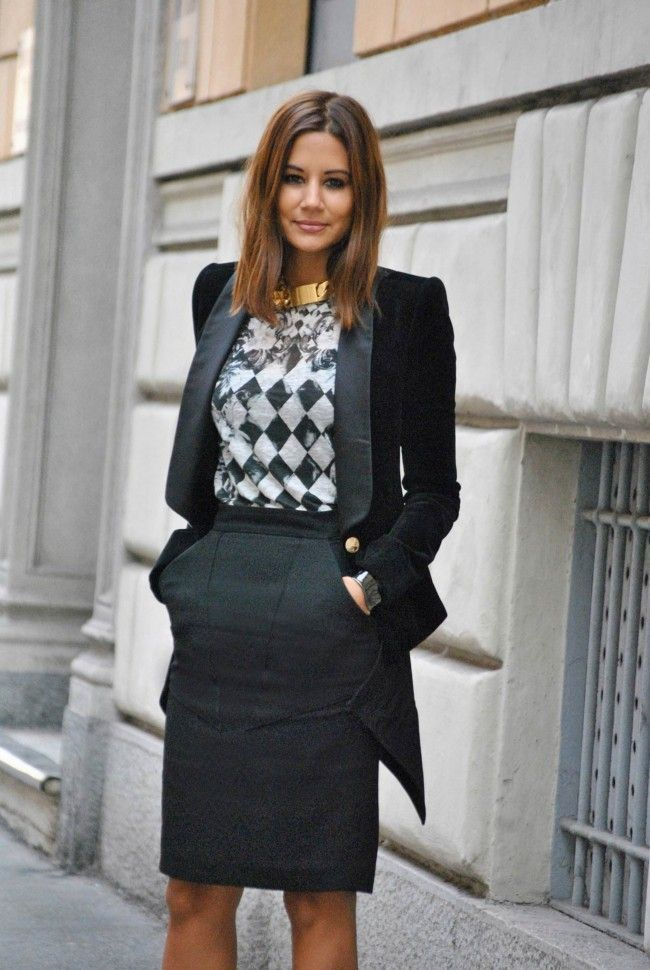 b4d9a392e1f1 20 Trendy Outfits For The Office - Office Outfit Ideas - Her Style Code