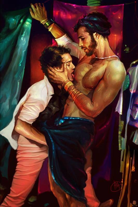 Gay cartoon franco