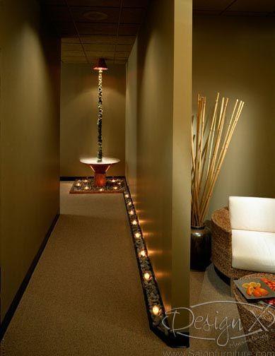 Delicieux Lights Along Hallway Photo Gallery Of Salon And Spa Design | Design X Mfg |  Salon