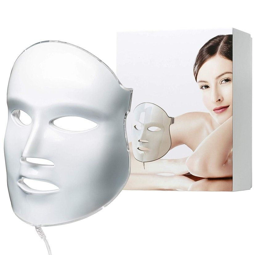These Handheld Led Light Devices Deliver Dermatologist Level Results All From Home In 2020 Led Facial Skin Care Mask Led Facial Mask