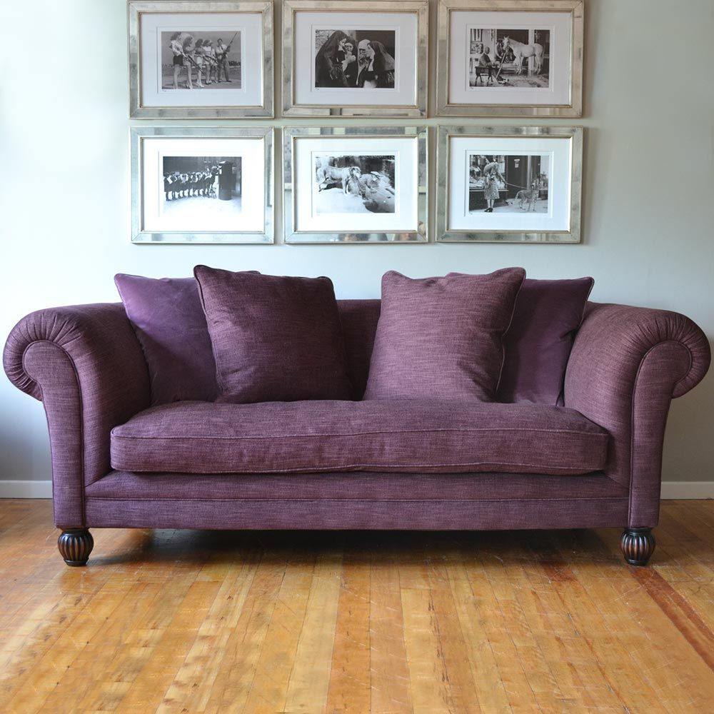 Costco Uk Shropshire Midi Fabric Sofa Aubergine