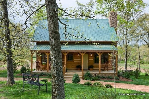 Clayton Log Cabin | Honest Abe Log Homes & Cabins
