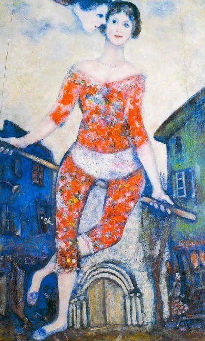 Chagall+-+Le+cirque+-+Tutt%27Art%40+%2826%29.jpg (422×700)
