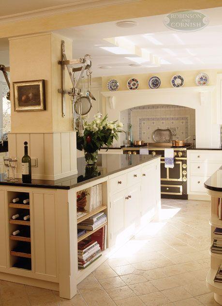 Kücheninsel mit säule