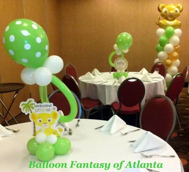 Lion Baby Shower Ideas: Lion King Baby Shower Decorations