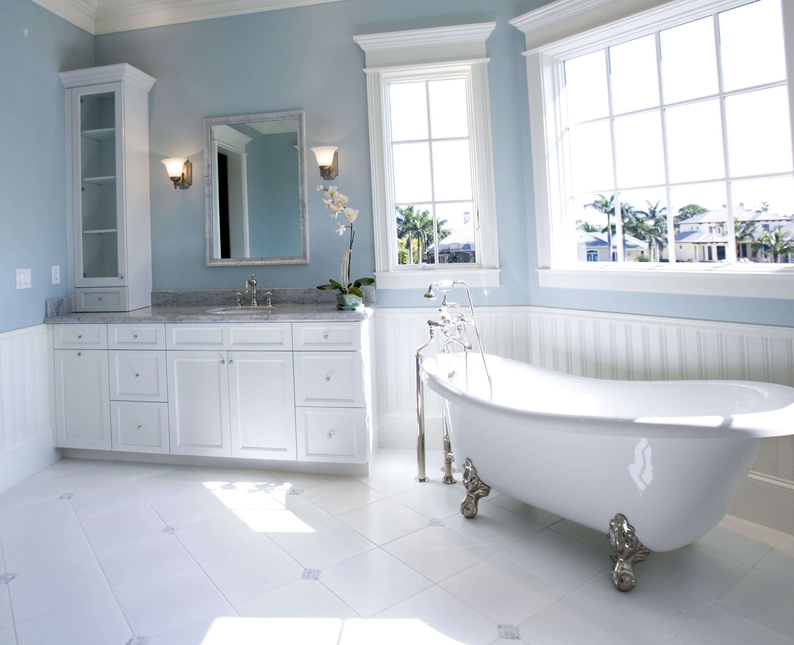 Bathroom paint colors | Bathroom Design ideas 2017 | Coastal ...